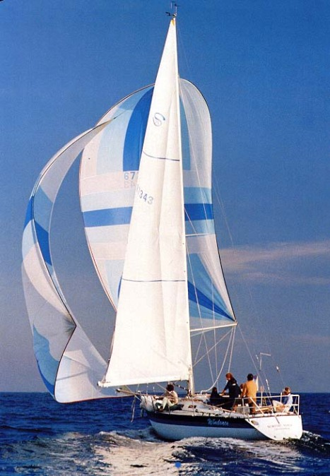 Santana 35 photo from original WD Schock sales brochure